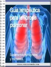receta para la fibrosis pulmonar
