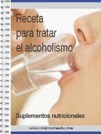 receta alcoholismo