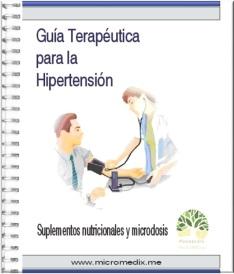 receta para la hipertensión
