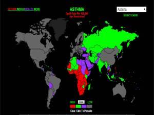 Asma: tasas de mortalidad