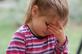 niña con ansiedad