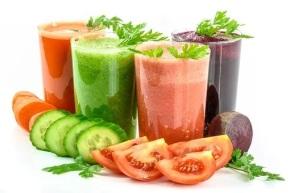 jugos de verduras