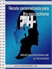 Portada de la receta personalizada para la esquizofrenia